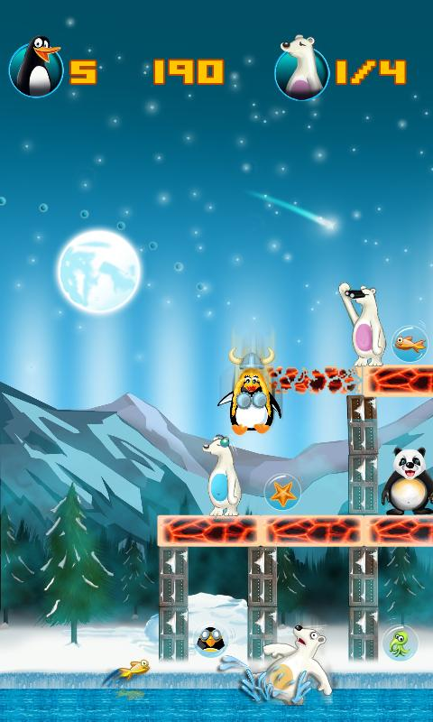 Crazy Penguin Assault Free - screenshot