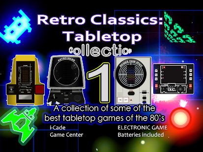 Retro Classics: Tabletops 1- screenshot thumbnail