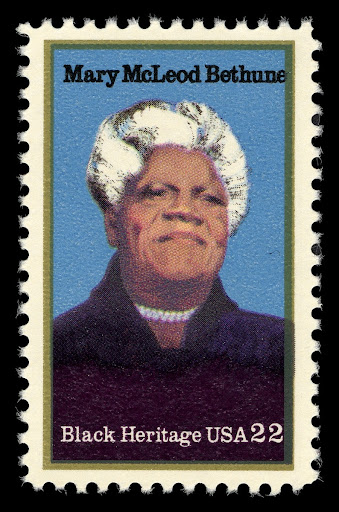 22c Mary McLeod Bethune stamp