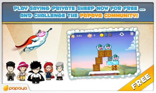 Saving Private Sheep Free - screenshot thumbnail