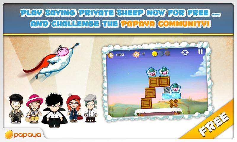 Saving Private Sheep Free - screenshot