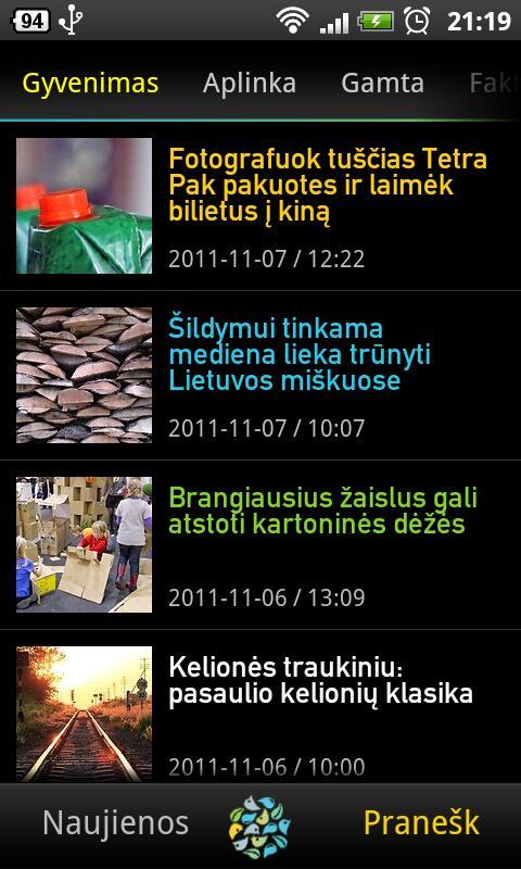 Grynas.lt- screenshot