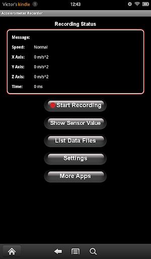 Accelerometer Recorder Full