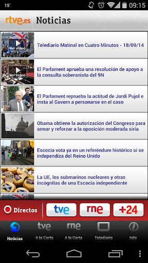 RTVE.es Móvil