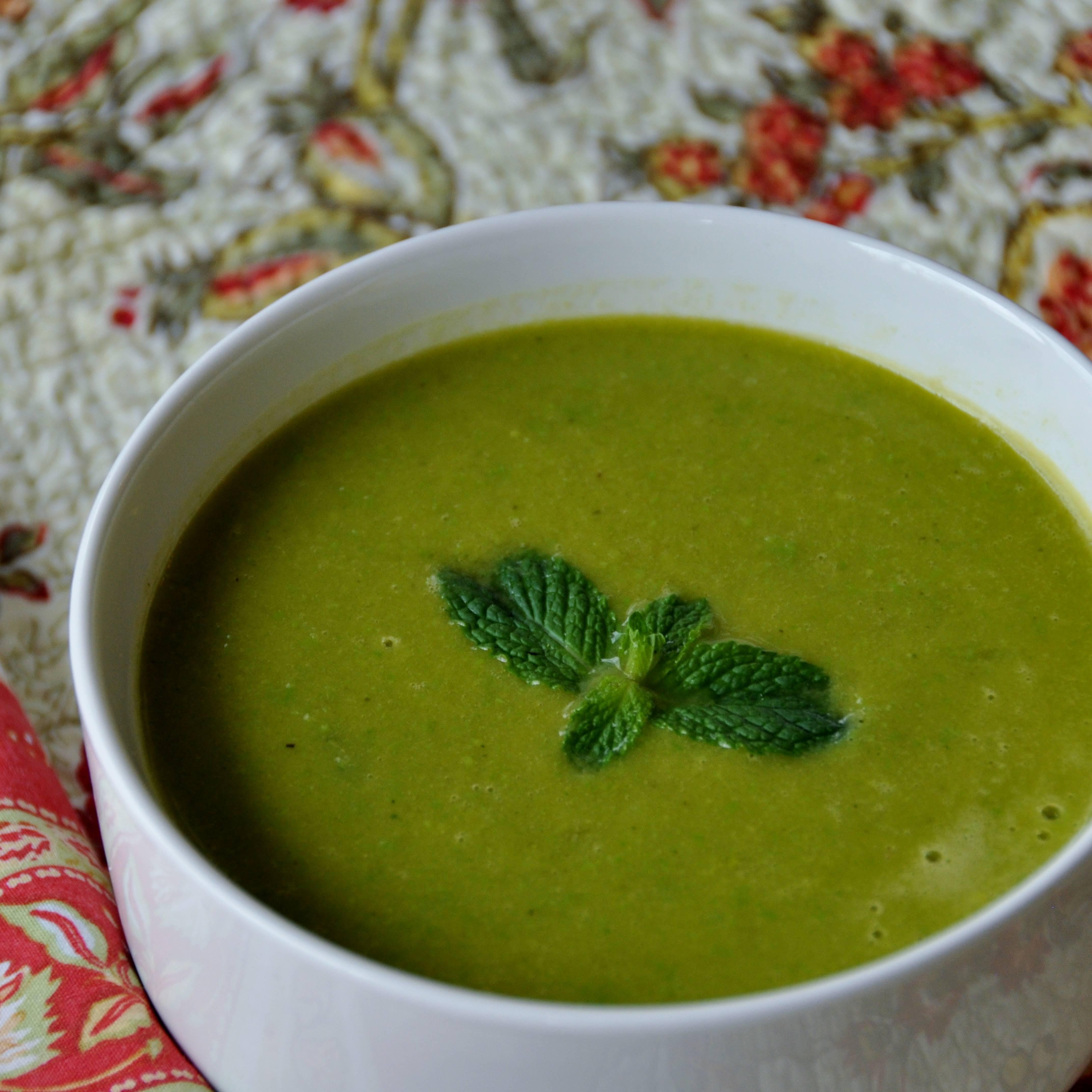Minted English Pea Soup
