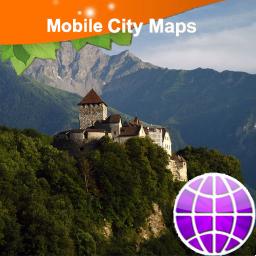 Liechtenstein Street Map