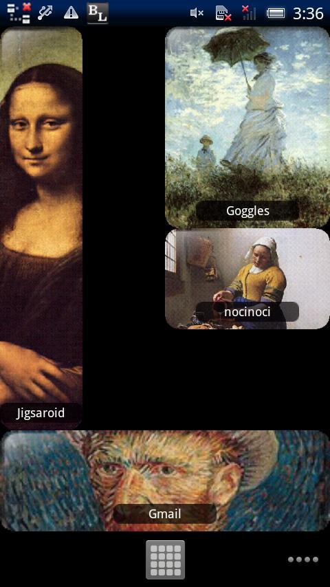 Nocinoci Widget free- screenshot