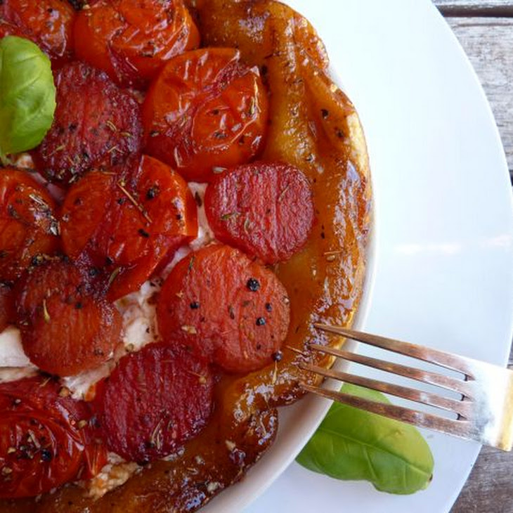 Tomato and Goat Cheese Tatin