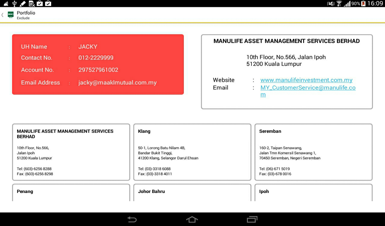 swot analysis of manulife unit trusts berhad What do i look for in a unit trust fund are unit trusts lousy net if i'm not mistaken, i also use that tools with my consultant, he recommend me to use the tools for my own analysis may i know where is asia unit trust berhad in penang situated and the company's tel numbers.