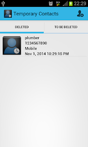 Temporary Contacts screenshot 4