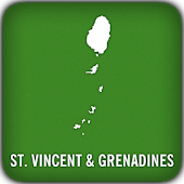 St. Vincent Grenadines GPS Map