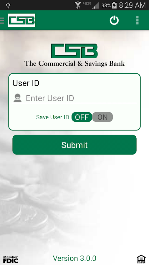 The Commercial & Savings Bank- screenshot