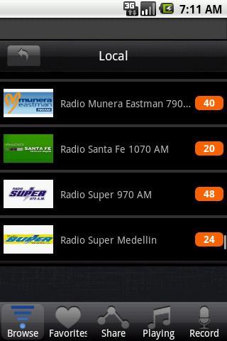 【免費娛樂App】無線電哥倫比亞-APP點子