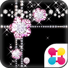 Jewel Theme Diamond Flower icon