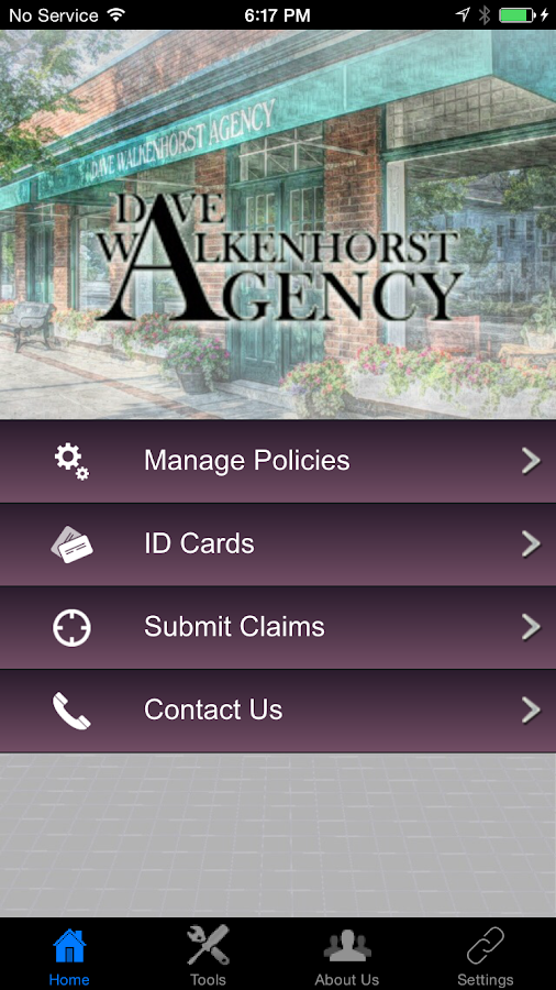 Dave Walkenhorst Agency- screenshot