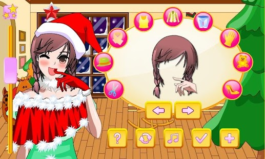 Anime Christmas Dress Up - screenshot thumbnail