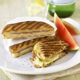 Prosciutto Panini with Apple and Gruyère