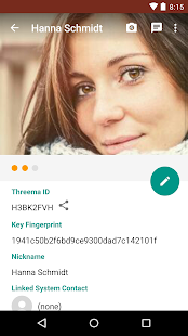 Threema - screenshot thumbnail