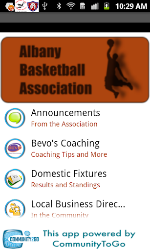 Albany Basketball Association
