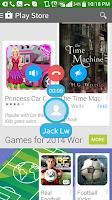Screenshot of HandyCall Lollipop Call Popup