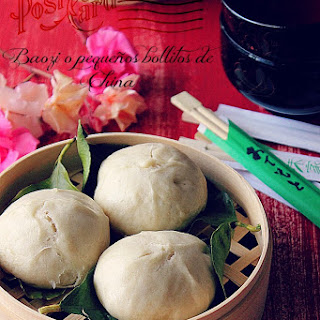 Chinese Meat Filled Buns (Baozi).