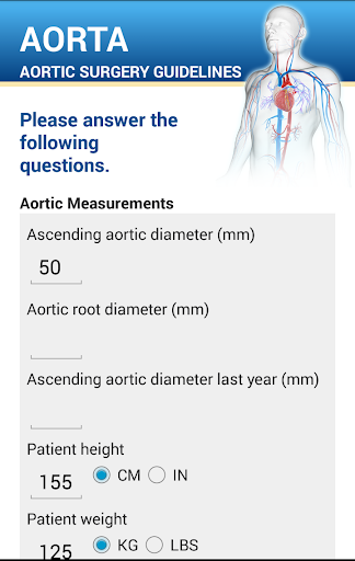 Aortic surgery guidelines