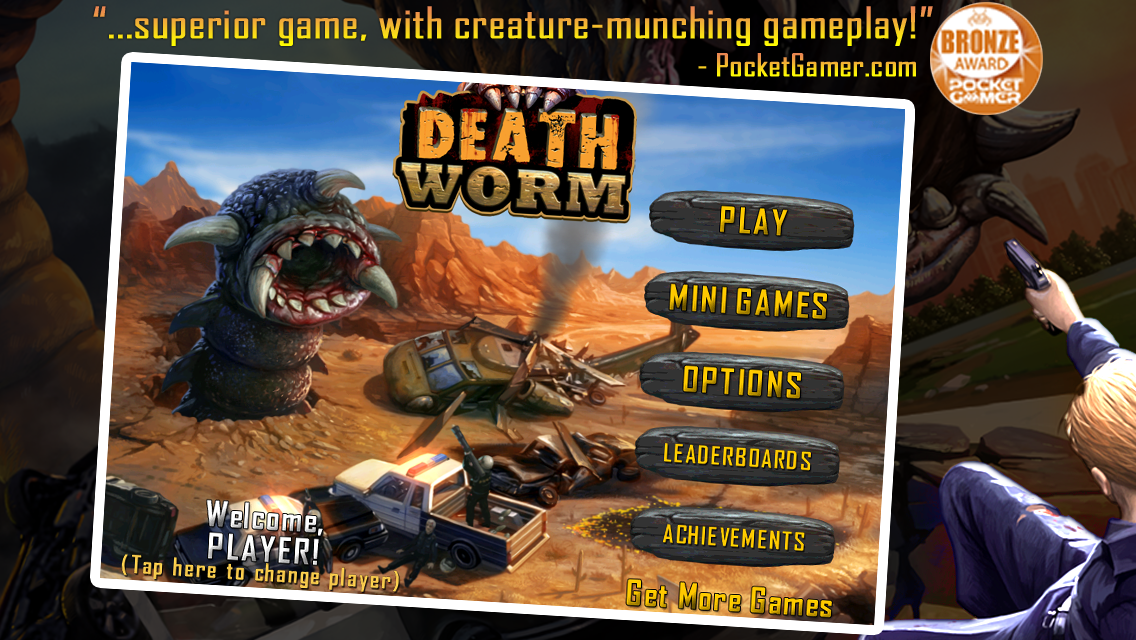 Death Worm Free- screenshot