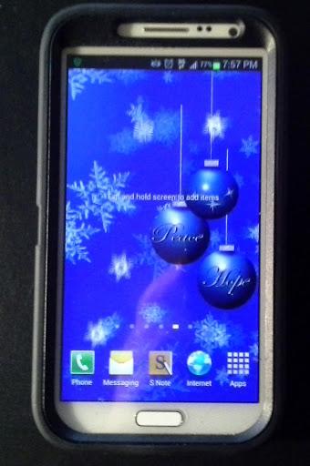 Blue Christmas LWP