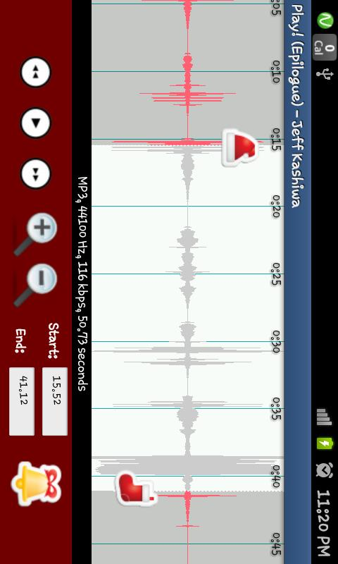 RINGME xMAS Ringtone Maker - screenshot