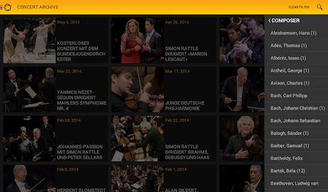 Digital Concert Hall Screenshot 14