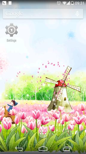 樱花风车免费动态壁纸