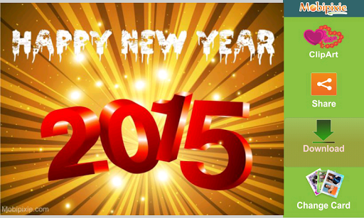 New Year eCard Greeting Free