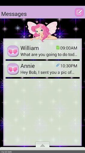 TwilightFairy GO SMS THEME