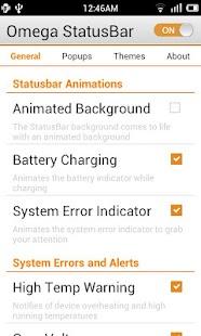 Omega StatusBar Pro- screenshot thumbnail