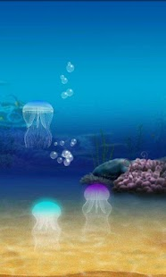 玩個人化App|Jellyfish Live Wallpaper Pro免費|APP試玩