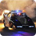 Speed Night Police Car icon
