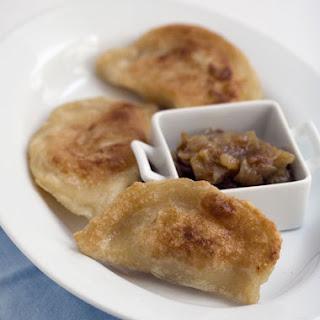 Pierogi (Potato and Mushroom Sauerkraut).