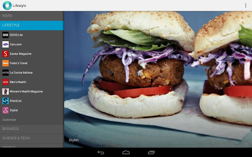 Google Currents for Android