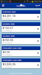 USAlliance FCU Mobile - screenshot thumbnail