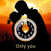 Saint Valentines Day Clock LWP