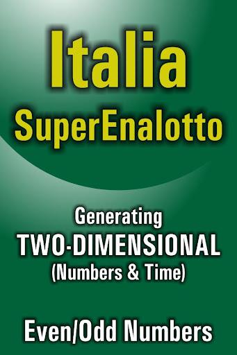 Lotto Winner for SuperEnalotto