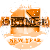 NEXT LAUNCHER OrangeNY THEME