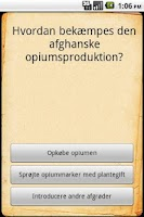 Screenshot of Afghanistan Quiz