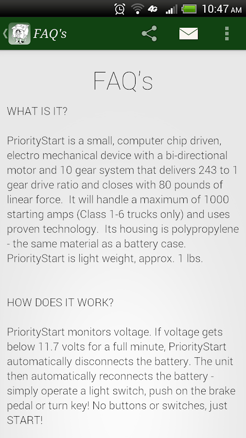 PriorityStart - screenshot