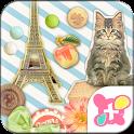 Cute Theme-French Tour- icon
