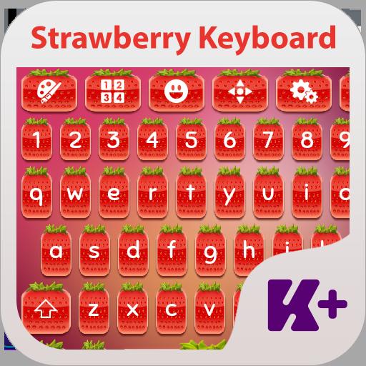 草莓键盘主题 個人化 App LOGO-APP試玩
