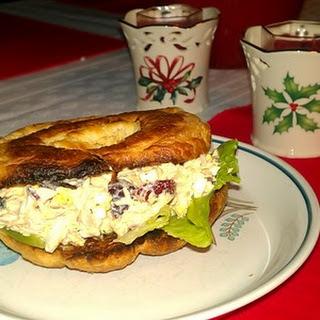 After Holiday Turkey Salad Sandwich