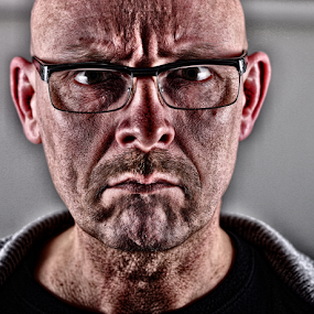 furious by Axel K. Böttcher - People Portraits of Men (  )