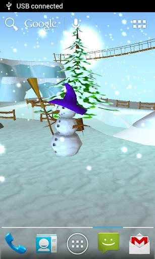 Snow Free 3D Live Wallpaper