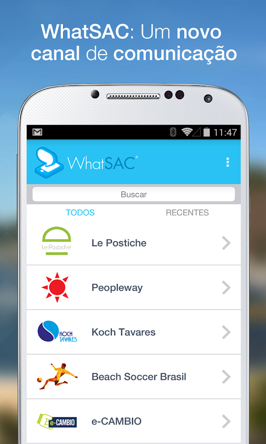 WhatSAC- screenshot